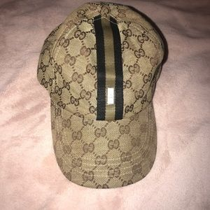 Gucci monogram baseball cap
